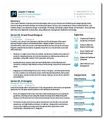 Entry Level Ux Designer Visual Designer Resume Entry Level Ux ...