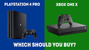 PlayStation 4 Pro vs XBOX One X - Which ...