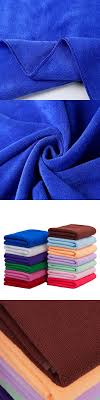 Salon Microfiber Towel Absorbent Car Wash Cleaning Cloth Bath Towel Magic  Hair-drying Towel for