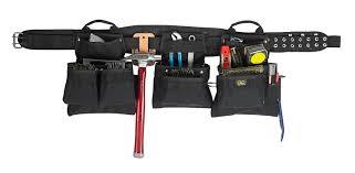custom leather tool belt. clc custom leathercraft 5605m professional carpenters combo, black, 18-pocket - tool belts amazon.com leather belt u