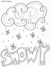Small Picture Weather Coloring Pages Classroom Doodles