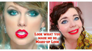 taylor swift look what you made me do inspired make up includes taylor s actual lipstick