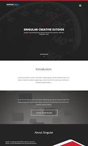 one page website template 201 amazing free psd website templates