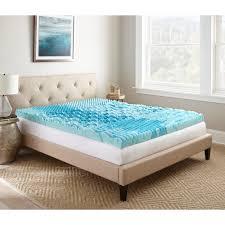 memory foam mattress king size. Full Gellux Gel Memory Foam Mattress Topper King Size