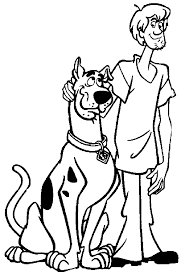 Small Picture Perfect Scooby Doo Coloring Pages 97 For Your Coloring for Kids