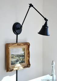 wall mounted desk light lmp pinted wall mounted desk lamp ikea