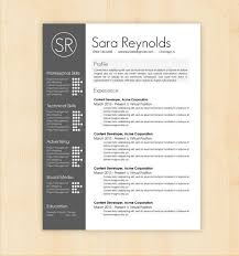 20 Contemporary Resume Templates Free Resume