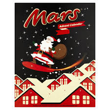 advent calander mars advent calendar 111g amazon com grocery gourmet food