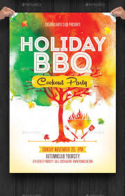 17 Bbq Party Flyers Word Psd Vector Eps Indesign Pdf