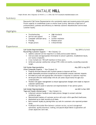 call center customer service cover letters customer service call center resume examples