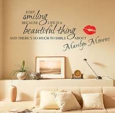 image is loading marilyn monroe wall stickers quotes art decals w55 on marilyn monroe wall art quotes with marilyn monroe wall stickers quotes art decals w55 ebay