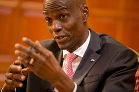Haiti President Jovanel Mois, offers aid