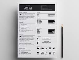 Impressive Resume Templates Resume Templates Indesign Free Cv Design Template Download 20