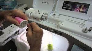 Brother Dream Catcher Sewing Machine Threading The Brother Embroidery Machine Innovis Vm100 Dream 57
