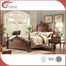 Malaysia Solid Wood Bedroom Furniture WA152