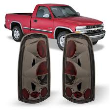 Lights For 2006 Chevy Silverado Winjet Wj20 0004 02 Taillights Lamps Replacement For 1999 2006 Chevy Chevrolet Silverado 1999 2002 Gmc Sierra 1500 2500 3500 Factory Chrome