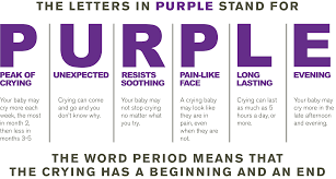 National Center On Shaken Baby Syndrome Purple Crying