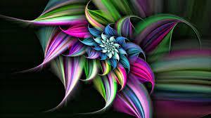 3D Flowers - 1799346