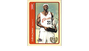Get the best deal for lebron james rookie basketball trading cards from the largest online selection at ebay.com. Amazon Com 2004 05 Fleer Tradition 210 Lebron James Aw Nba Basketball Trading Card Collectibles Fine Art