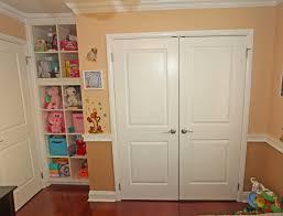 closet design with white wooden closet door with white trim board door