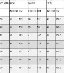 One World Dress Size Chart Women Size Chart How To Choose Your Dress With Care Size