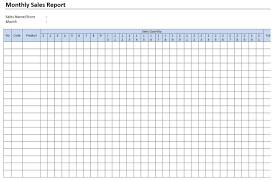 Sales Monthly Report 30 Monthly Sales Report Templates 264816585046 Format For
