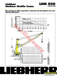Liebherr 500 Ton Crane Load Chart Liebherr Specifications Cranemarket Page 2