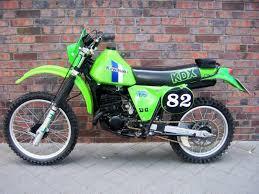 kawasaki kdx for or sell motorcycles motorbikes kawasaki kdx 175 vintage enduro `82 original condition twostroke collection