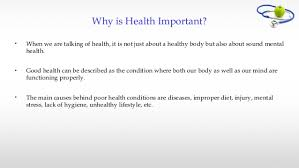 essay on importance of good health importance of good health essay why is it important to be healthy essay homework for you why is it important to