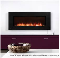 napoleon efl42h azure 42 linear wall mount electric fireplace