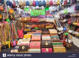 Flea Market Designer Handbags Fake Bags Market Stock Photos Fake Bags Market Stock