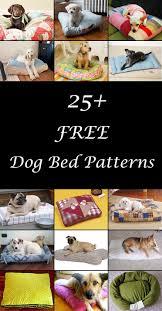 Dog Bed Patterns Stunning Dog Bed Diy 48 Free Dog Bed Patterns Free Sewing Patterns