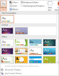 themes create create and save a powerpoint template powerpoint