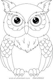 Free Printable Owl Coloring Pages Cartoon Owl Coloring Pages