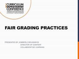 Ppt Fair Grading Practices Powerpoint Presentation Id