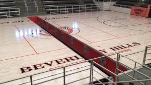 high school gym. Beverly Hills High School Swim Gym Opening