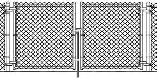 Image Hoover Fence Complete Masterlink Supply Chainlink Fence Gates Cantilever Sliding Gates Swing Gates More