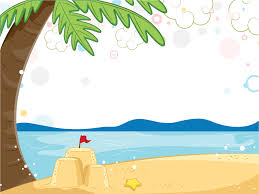 Summer Beach Powerpoint Free Ppt Backgrounds And Templates