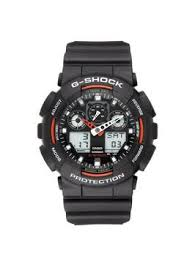 casio g shock red and black mens watch very co uk
