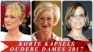 Korte Kapsels Oudere Dames 2017