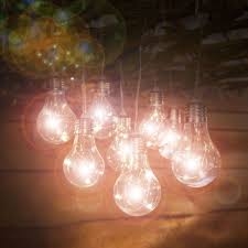 deluxe bright led solar string lights garden outdoor party fairy lamp led lights
