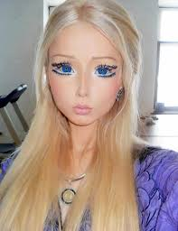how to middot barbie valeria lukyanova wears elaborate eye makeup and contact lenses in a facebook