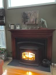 best photo gas fireplace insert repair completed projects all pro chimney service decoration