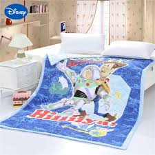 Toy Story Sheriff Woody Quilts Comforters Single Twin Full Queen ... & Toy Story Sheriff Woody Quilts Comforters Single Twin Full Queen Size  Bedspread Cotton Fabric Woven 3D Adamdwight.com
