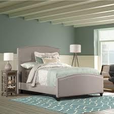 diy upholstered bed. Image Of: Diy Gray Upholstered Bed L