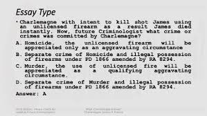 criminology licensure examination reviewer how to effectively hurdle essay