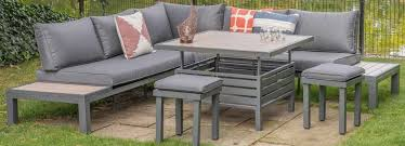 to clean and re garden furniture