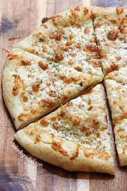 thin crust two cheese white pizza