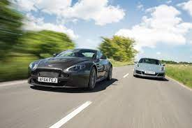 New V Used Which Car Should You Choose Porsche 911 Carrera Gts V Aston Martin V12 Vantage S New V Used Evo
