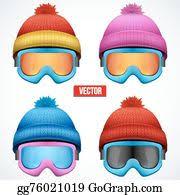 <b>Snow Ski</b> Hat Clip Art - Royalty Free - GoGraph